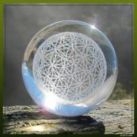 Flower of Life Sphere diamond