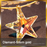 Diamant-Stern gold