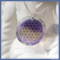 Flower of Life diamond - glass