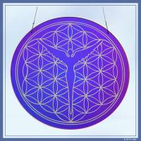 Flower of Life Disc small