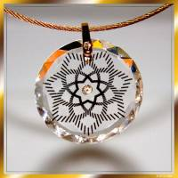 Ashtar Ray Pendant glass