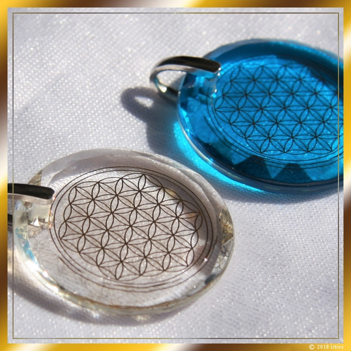 Flower of Life Pendant 02